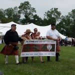 Clan Leask USA during VASG Clans Parade